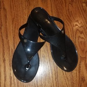 Tory Burch black sandals size 8